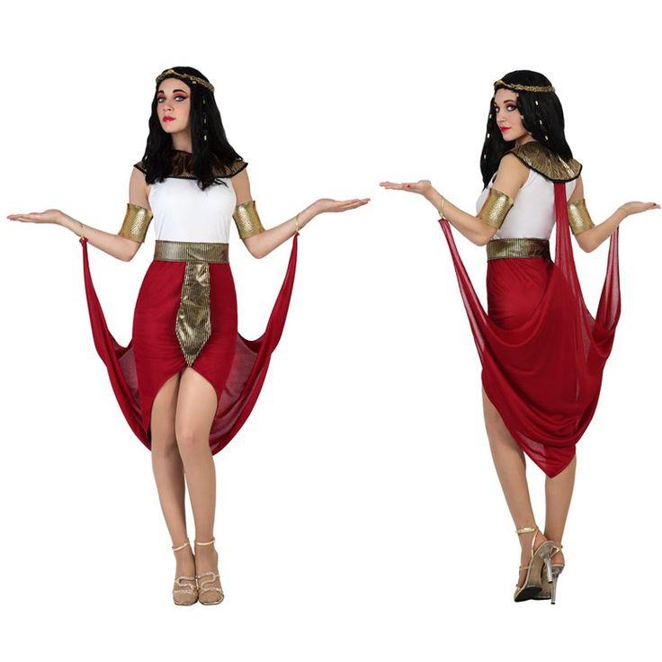 Disfraz de Egipcia Capa Roja #disfraces #carnaval