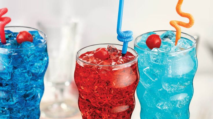 Jolly Mixers - Friendly's Don't fill up on candy! Satisfy that sweet tooth with Friendly's Jolly Mixers, made with Friendly's Shirley Temple, Royal Razz® and Cotton Candy.