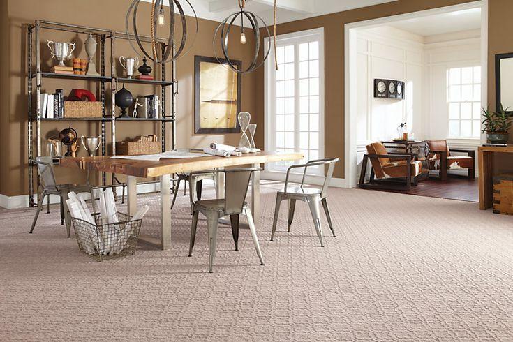Beige Smartstrand Silk Carpet For Living Room Design Ideas