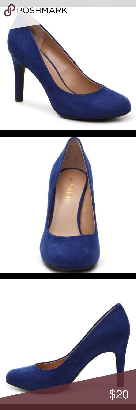 New   Kelly & Katie   Blue Suede Pumps   Size 6 Brand new cobalt blue Suede Pumps. Will trade. Kelly & Katie Shoes Heels