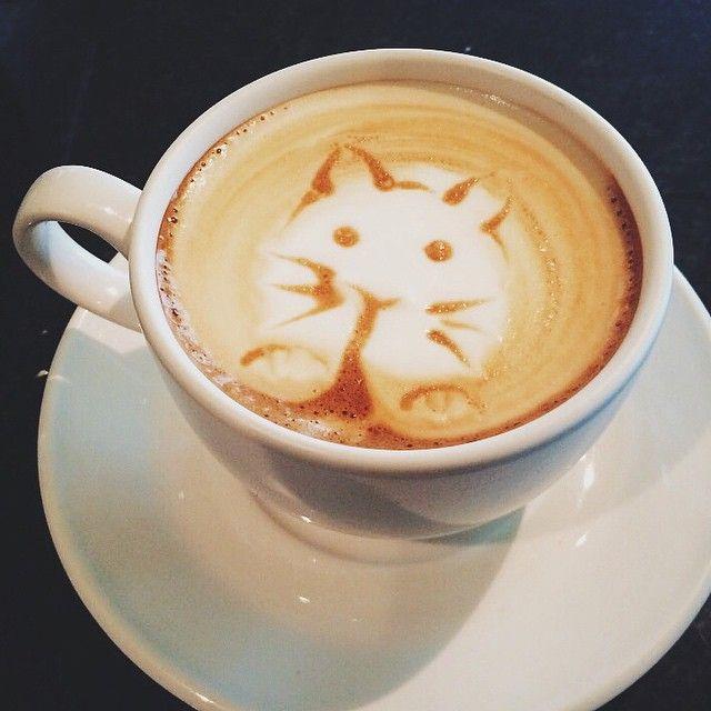The Black Canary #Toronto #Cafe #Coffee #LatteArt #Latte