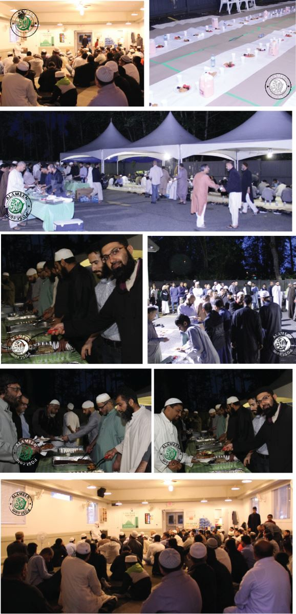 Abu Bakr Islamic Center Iftari