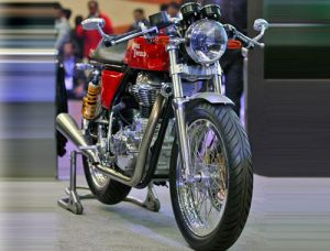 Royal Enfield Will Showcase it's new retro style Cafe in an International event