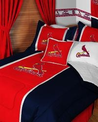 STL Cardinals Bedding For Spare Bedroom