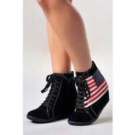 Zapatos Plataforma Casual Boston Z052