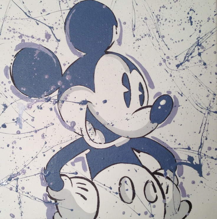 Disneys Mickey Mouse in Blues by Kevin Graham