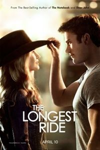 The #LongestRide #NicholasSparks' latest film centers on the love affair between Luke (#ScottEastwood) and Sophia (#BrittRobertson), whose conflicting paths and ideals test their relationship. But an unexpected and fateful connection with Ira, who has his own decades-long love story, inspires the young couple.