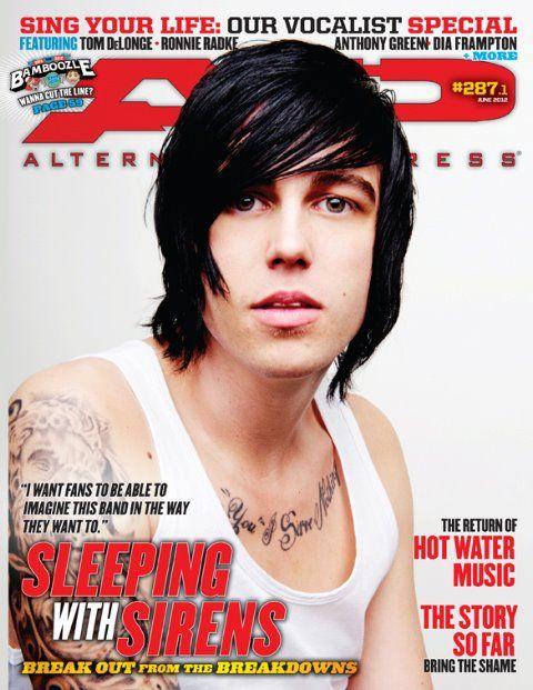 AP 287.1 // June 2012 // Sleeping with Sirens