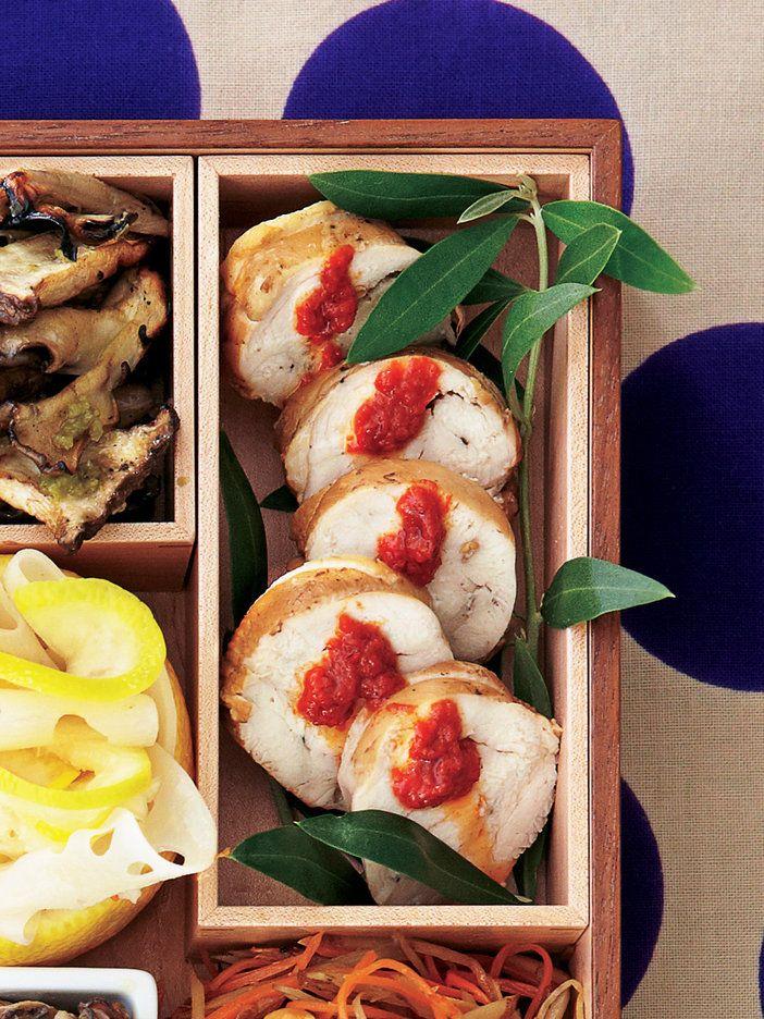 くるりと巻いた形が愛らしい手作りハム|『ELLE gourmet(エル・グルメ)』はおしゃれで簡単なレシピが満載!