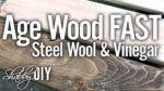 Make Steel Wool And Vinegar Wood Stain