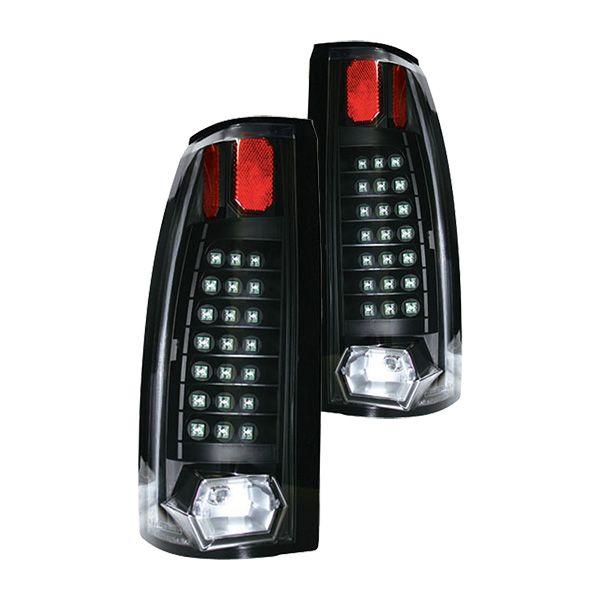 IPCW® - Bermuda Black LED Tail Lights with 21 LEDs