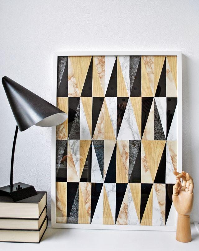 anunkblog, diy, geometric