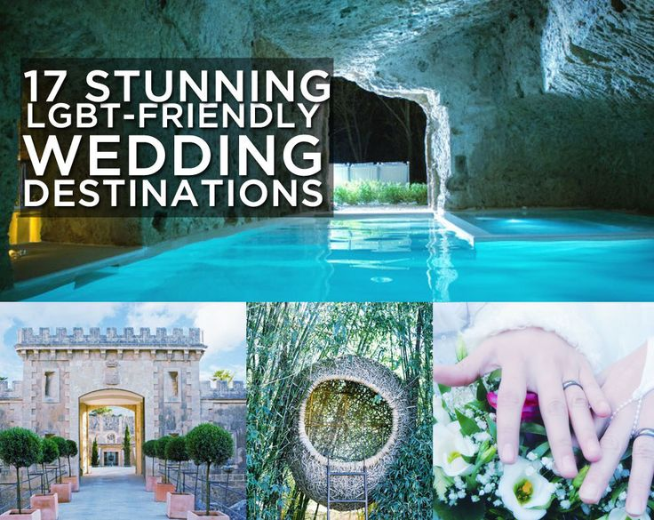 17 Of The Most Beautiful LGBT-Friendly Wedding Venues From Around The World