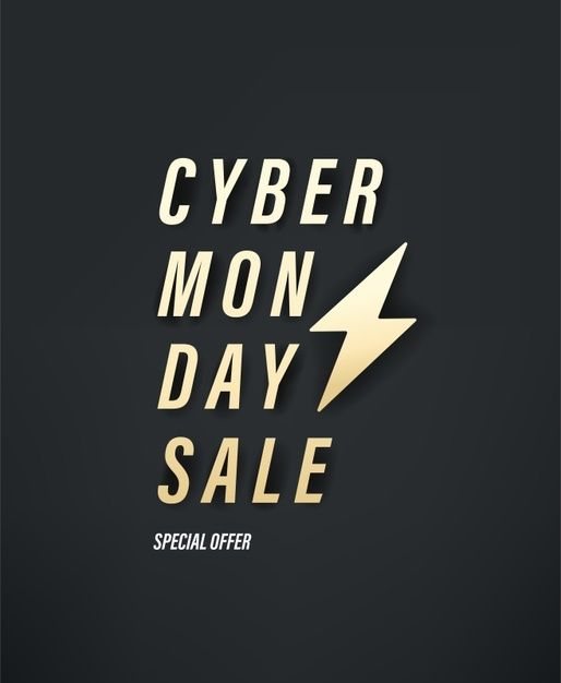 Cyber Monday Sale Special Offer Vector Banner In 2020 Cyber Cyber Monday Sales Cyber Monday