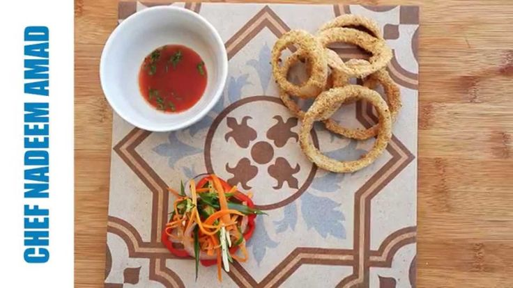 how to make onion rings without eggs