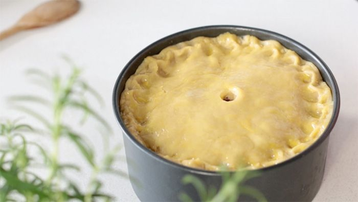 How to make a pork pie using traditional hot water crust pastry.