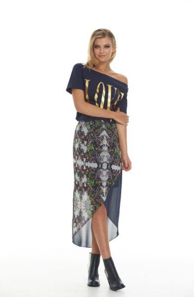 Augustine Paz Wrap Skirt