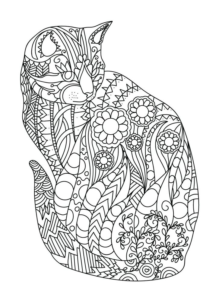 Pin by Ann M on Artistic Cats to Keep you Thinking | Cat ...