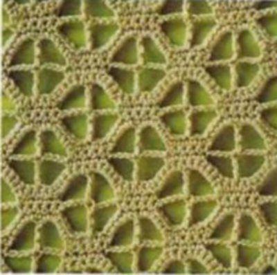 узор вязание крючком