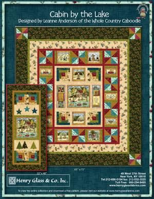 Cabin By The Lake Free Quilt Patterns Lake House Ideas