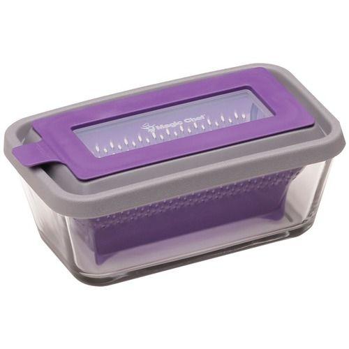 MAGIC CHEF MCMC475RPL Magic Steam(TM) 4 3/4-Cup Microwave Cookware (Purple)