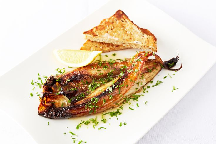 Kippers with Lemon Butter