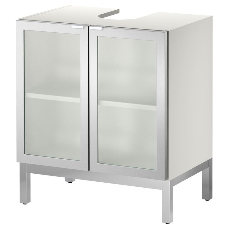 Lill Ngen Sink Base Cabinet With 2 Door Aluminum Ikea