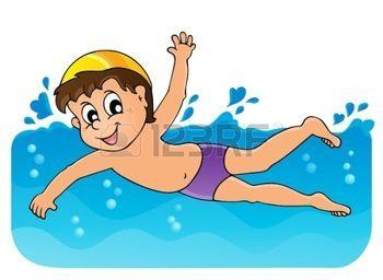nuotatore: Immagine 3 di tema di nuoto Vettoriali