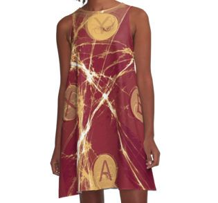 Xbox Gaming A-Line Dress by emilypigou  #summerclothing #summervacationsdress…