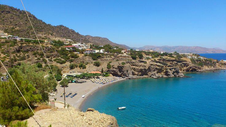 Galini beach south east Crete