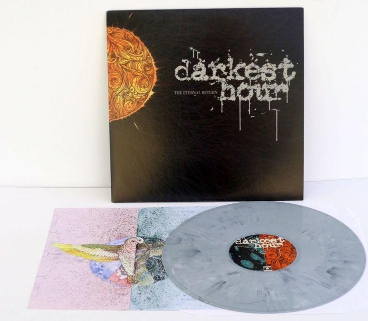 DARKEST HOUR the eternal return Lp Record GREY Marbled Vinyl with lyrics insert #hardcoreHardRockPunkNewWave