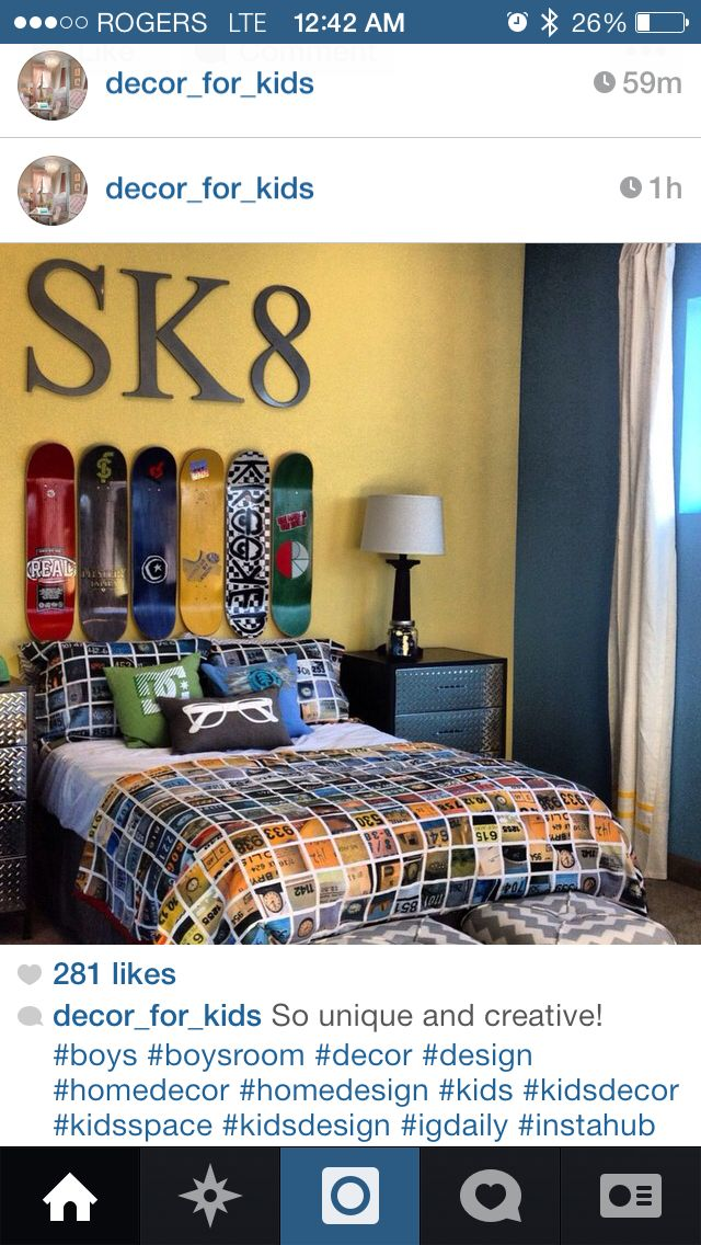 Cool room for boys
