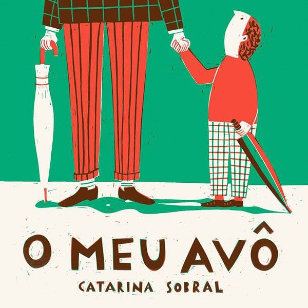 """This new book by Catarina Sobral tells the story of a grandfather, his daily life, habits and tastes. It's narrated by a very active and funny voice and brilliantly illustrated by Catrina Sobral. """"O Meu Avô"""" won the International Award for Illustration on the Bologna Children's Book Fair 2014."""