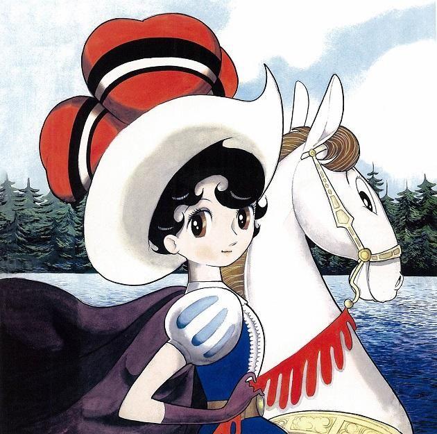 """手塚治虫「リボンの騎士」より、サファイア王女。☆Princess Sapphire from the 'Ribbon no Kishi' (English title:  """"Princess Knight"""" )  first written in 1953 by Osamu Tezuka in his twenties."""