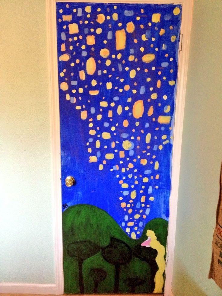 Diy Bedroom Door Painting Ideas Aesthetic