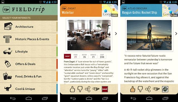 Google's Niantic Labs launches Field Trip app for Android, helps the working world play hooky