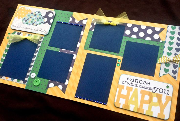 12x12 Summer Scrapbook Page Kit, 12x12 Premade Summer Scrapbook, 12x12 premade scrapbook pages, 12x12 boy Page Kit, 12x12 Scrapbook Page by JenSodowskyDesigns on Etsy https://www.etsy.com/listing/224698403/12x12-summer-scrapbook-page-kit-12x12