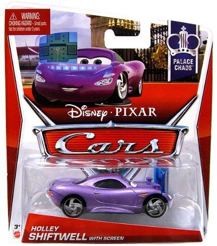 Disney Pixar Cars 2 Holley Shiftwell With Screen From The Palace Chaos Series 1 Of