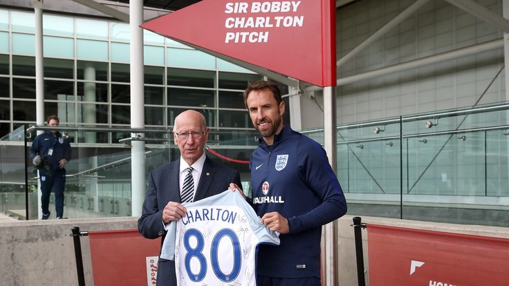 Sir Bobby Charlton tells England squad to appreciate St George's Park… #News #composite #England #FIFAWorldCupEuropeanQualifying #Football