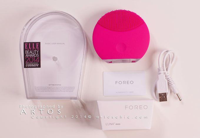 Foreo Luna Foreo Luna Mini ك ل ما ت ودين معرفته عن جهاز لونا فوريو و لونا فوريو ميني لتنظيف البشرة Beauty Awards Foreo Mini