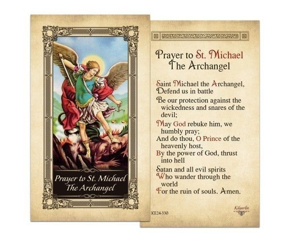 archangel michael prayer - 600×500