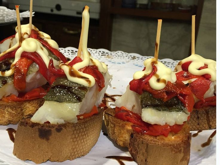 Pinchos in Spain. To learn more about Bilbao | Rioja, click here: http://www.greatwinecapitals.com/capitals/bilbao-rioja