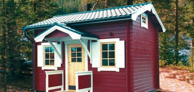 Högt torp n loft (tänk bort verandan)