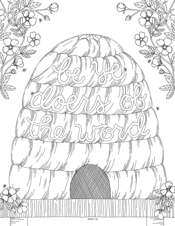 Coloring Pages About Church Coloring Pages