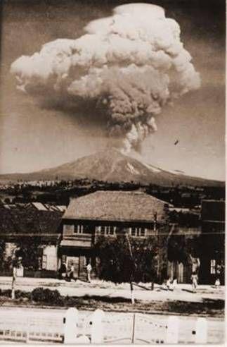 Erupción Volcán Villarrica, Pucón