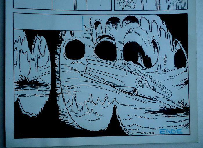 Studio Vandersteen - Originele pagina (p.22) - Jerom - De zwarte vlekken - (begin jaren '70)  Originele pagina van Jeromdoor Studio VandersteenDe zwarte vlekkenGeldt als nummer 185 in de Duitse nummering gehanteerd door de Studio Vandersteen.  EUR 3.00  Meer informatie
