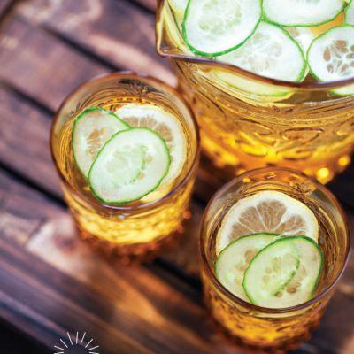 Ginger and Cucumber Lemonade
