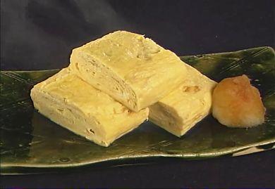 Dashi maki  : omelette of Japanese style