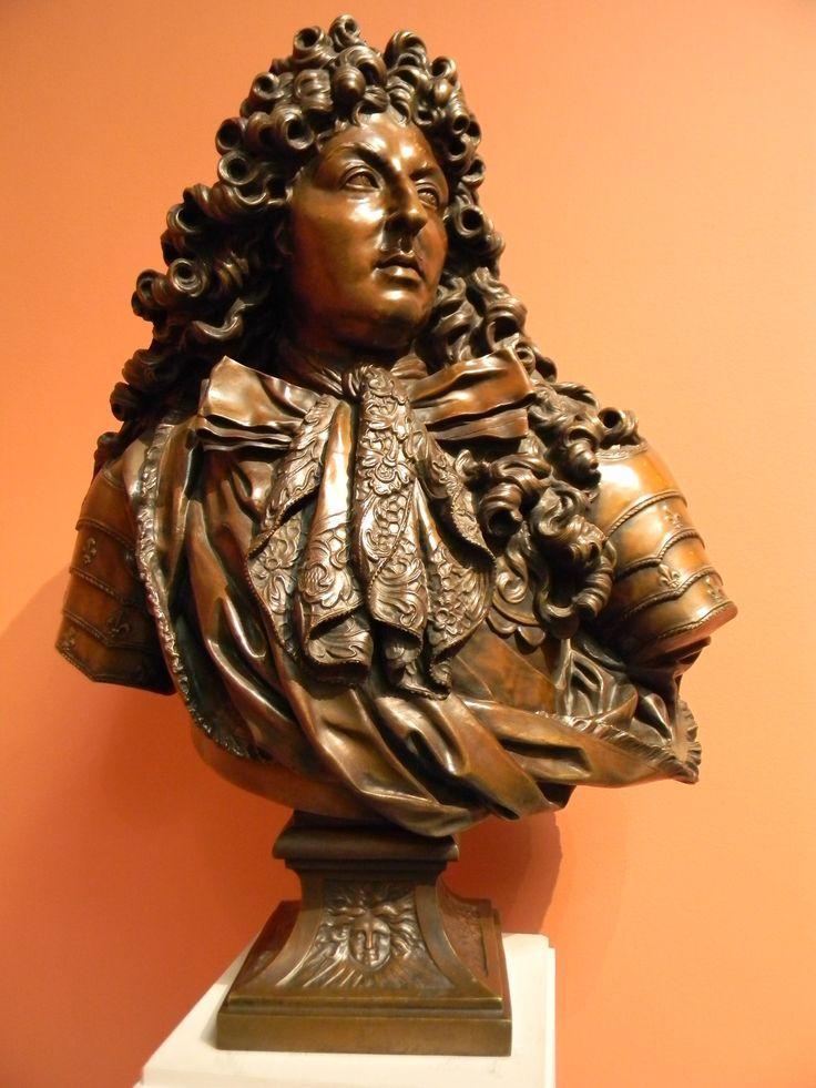 Людовик XIV король Франции (Куазево, Антуан)