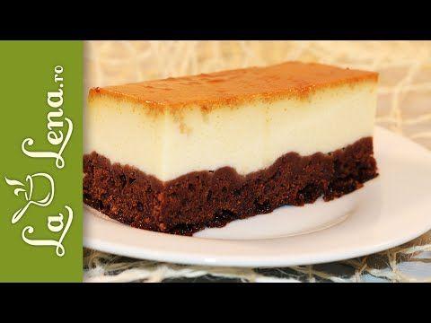 Chocoflan - Prajitura cu crema de zahar ars si ciocolata - YouTube